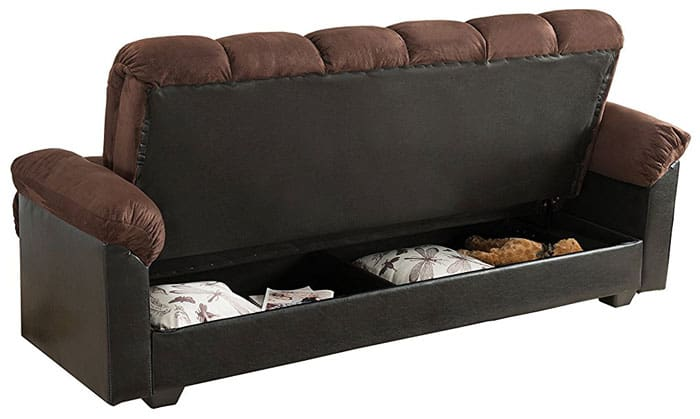Comfortable   Loveseat Sofa Bed With Storage