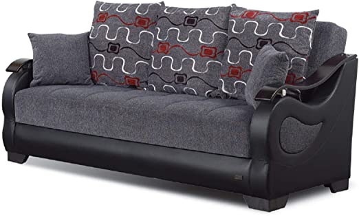 Amazon.com: BEYAN Arizona Collection Upholstered Convertible .