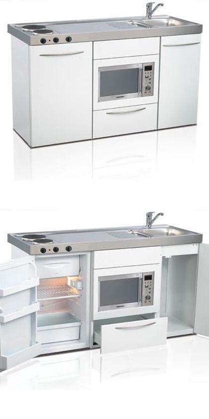Mini kitchen, compact kitchen, tiny kitchen, small kitchen, space .