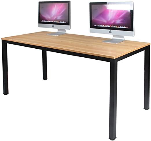 Amazon.com: DlandHome 55 inches Large Computer Desk, Composite .