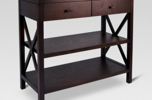 Owings Console Table 2 Shelf With Drawers - Threshold™ : Targ