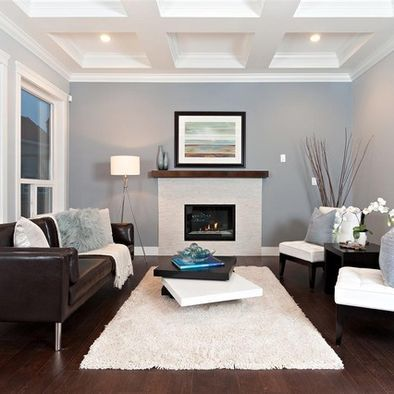 Fantastic Contemporary Living Room Designs | Brown couch living .