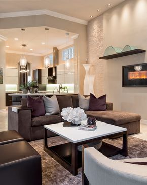 Decorative Chocolate Brown Couch Image Gallery in Living Room .