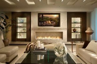 Living room design ideas in brown and beige - 50 fabulous .