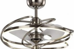 31% Off Modern Ceiling Fan with LED Lights 27 Inch Contemporary .