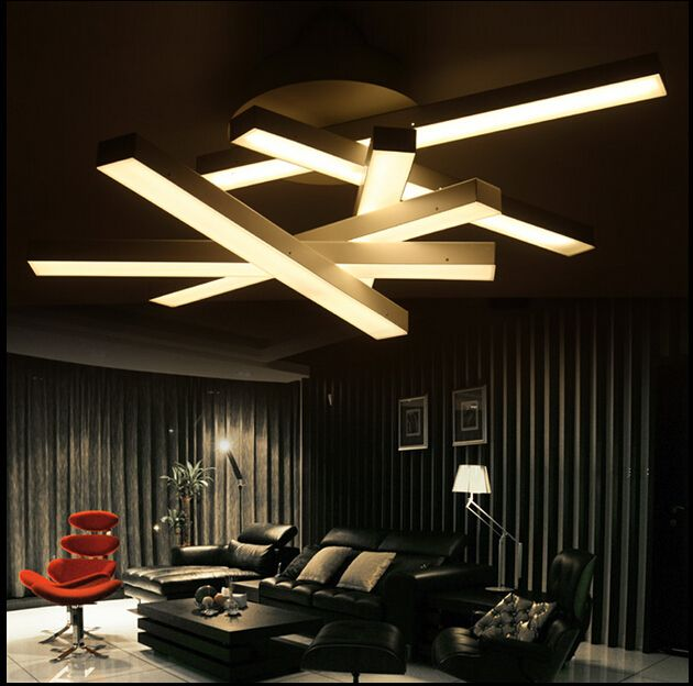 Modern led chandelier led lamps white light /warm light living .