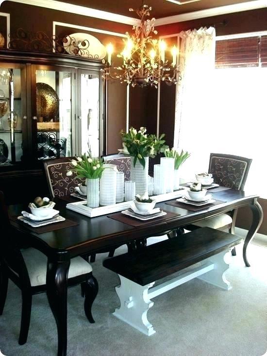 Farmhouse Dining Table Centerpiece Ideas Modern Room Decor .