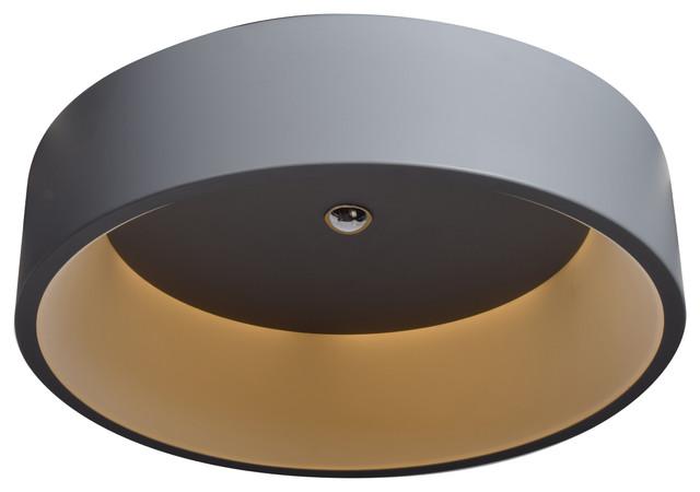 Radiant LED Flush Mount Ceiling Light - Contemporary - Flush-mount .