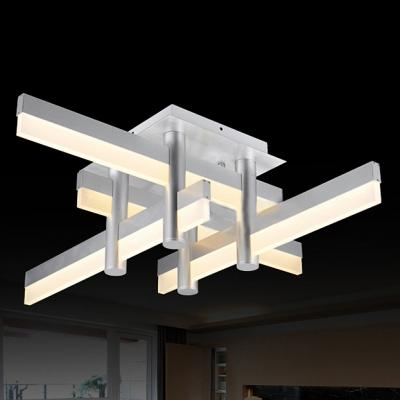 Medium LED Bar Modern Cool Lighted Flush Mount Ceiling Light .