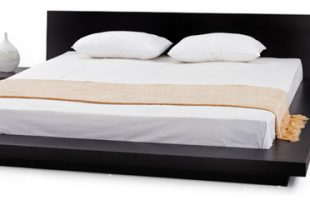Fujian Modern Bed With 2 Night Stands King, 3-Piece Set .