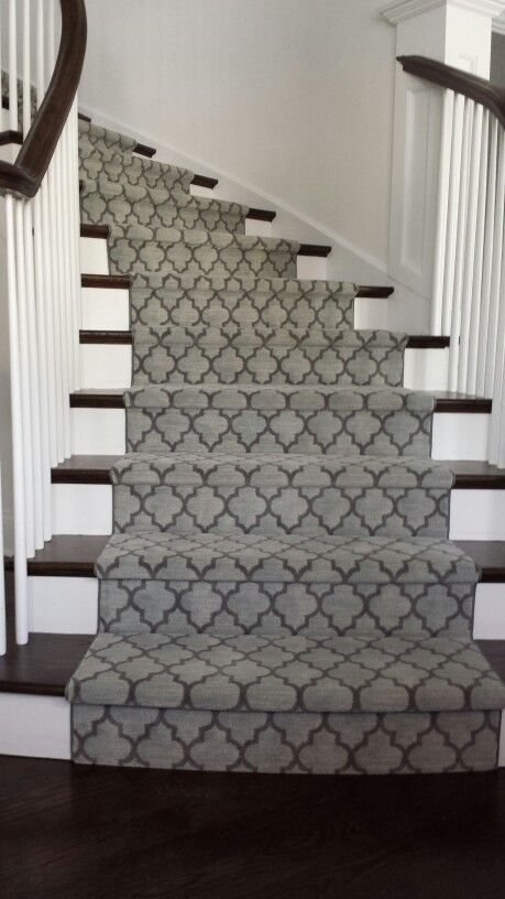 Modern Carpet Stair Runners Toronto, Vaughan, Richmond Hill .