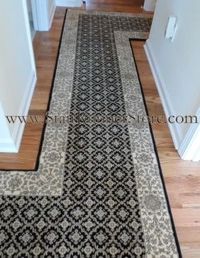 Custom hallway installations by John Hunyadi,The Stair Runner .