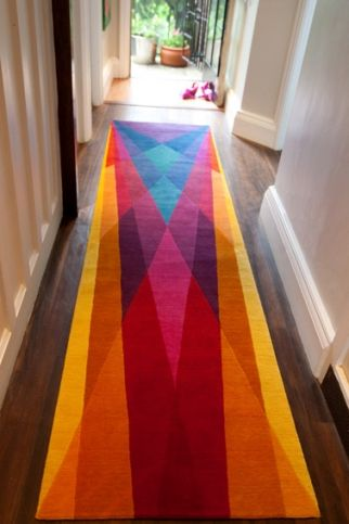 Runner by Sonya Winner | home insperations | Colorful rugs, Modern .