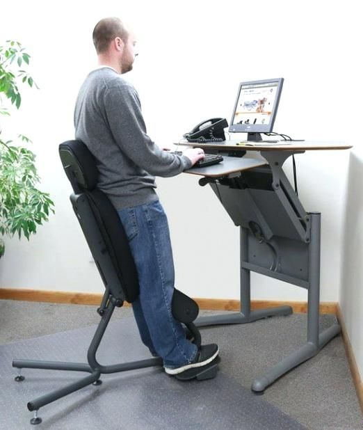 Contemporary Height Adjustable Standing   Desk