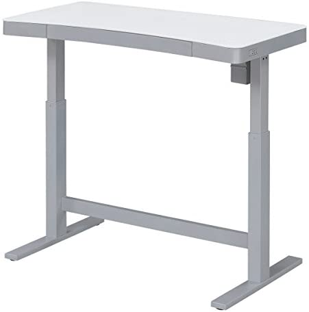 Amazon.com: Bell'O Electric Adjustable Height Standing Desk, White .