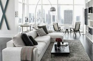 21 Modern Living Room Decorating Ideas | Modern apartment design .