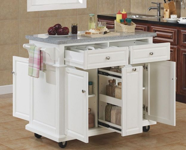 Portable Kitchen Islands IKEA | Movable island kitchen, Kitchen .