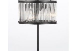 Shop Crystal Rod Iron Table Lamp 1920s Essex Contemporary Modern .
