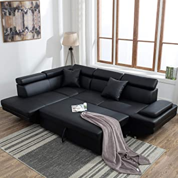 Amazon.com: Sectional Sofa for Living Room Sofa Bed Couches and .