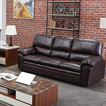Amazon.com: Sofa Leather Couch Sofa Contemporary Sofa Couch .