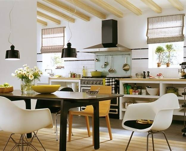 Modern Kitchen Design with Dining Area, 15 Design and Decorating Ide