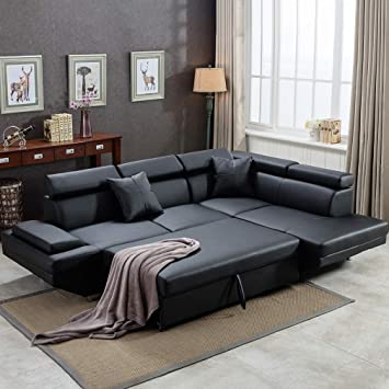 Amazon.com: Sofa Sectional Sofa Bed futon Sofa Bed Sofa for Living .