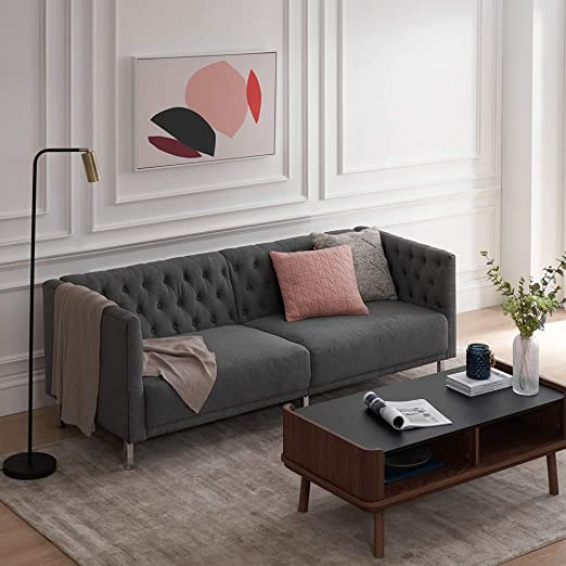 Amazon.com: Mopio Sofa, Aiden Classic Contemporary Couch for .