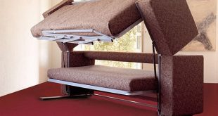 The convertible Doc XL sofa bed designed for small spac