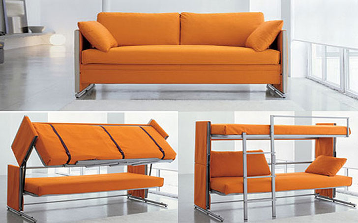 bonbon convertible sofa bunk-bed « Inhabitat – Green Design .