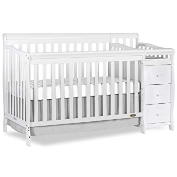 Amazon.com : Dream On Me 5 in 1 Brody Convertible Crib with .
