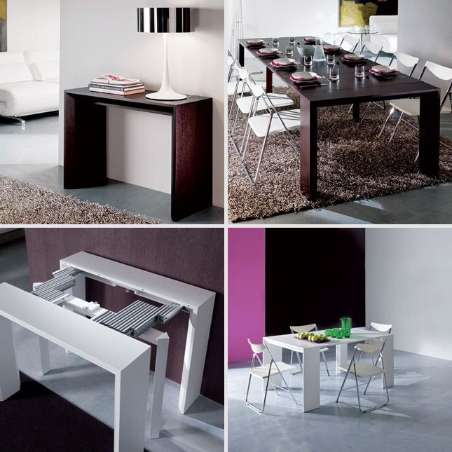 convertible dining tables for small   spaces
