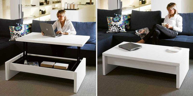 Coffee Tables That Turn Into Dining Tables (With images .