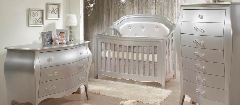 Brilliant Designer Nursery Furniture Cool Baby Ba Crib Glider .