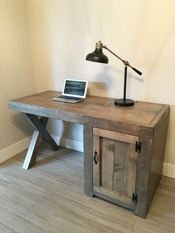 Creative DIY Computer Desk Ideas For Your Home in 2020 | Diy .