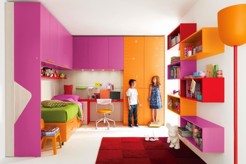 Luxurious Home Design: Awesome Kids Bedroom Decorating Ideas with .