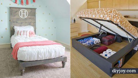 35 DIY Platform Beds For An Impressive Bedro