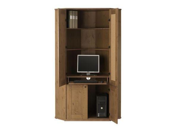 Kitchen Table + Alve + Diktad = Corner Computer Desk - IKEA Hacke