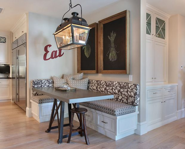 Build a Corner Booth Seating | Interior Photos of Kitchens and .