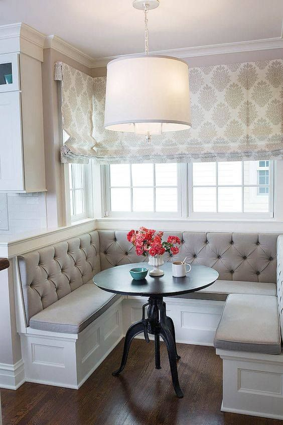 25 Exquisite Corner Breakfast Nook Ideas in Various Styles .
