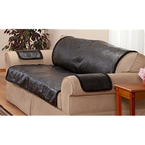 Leather Sofa Cover: Amazon.c