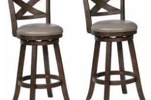 "Esofastore Modern Gray 29"" Counter Height Bar Stool Set of 6pc ."