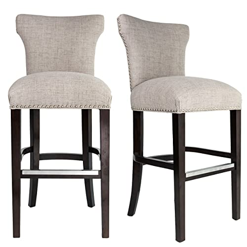 Upholstered Counter Height Bar Stools: Amazon.c