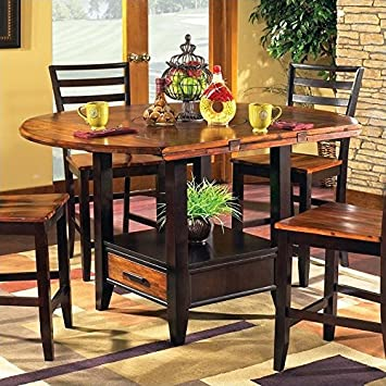 Amazon.com - Steve Silver Abaco Drop Leaf Counter Height Dining .
