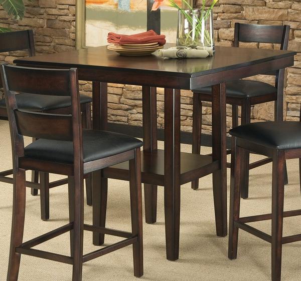 Tahoe Counter Height Table W/ 4 Chairs – Katy Furnitu