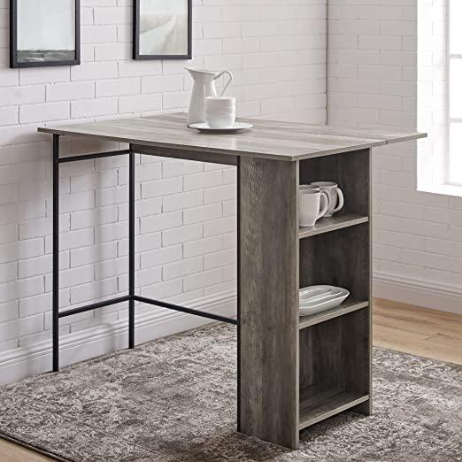 Amazon.com: Walker Edison Furniture Company AZW48LNDLGW Drop Leaf .