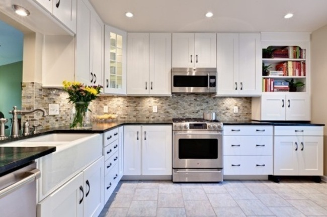 White Kitchen Cabinets Furniture Ideas — Home Decor Ideas from .
