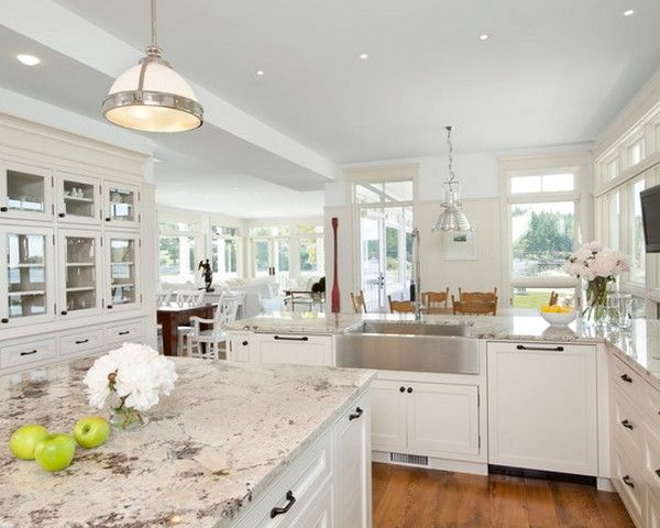 15 Best Pictures of White Kitchens with Granite Countertops (New .