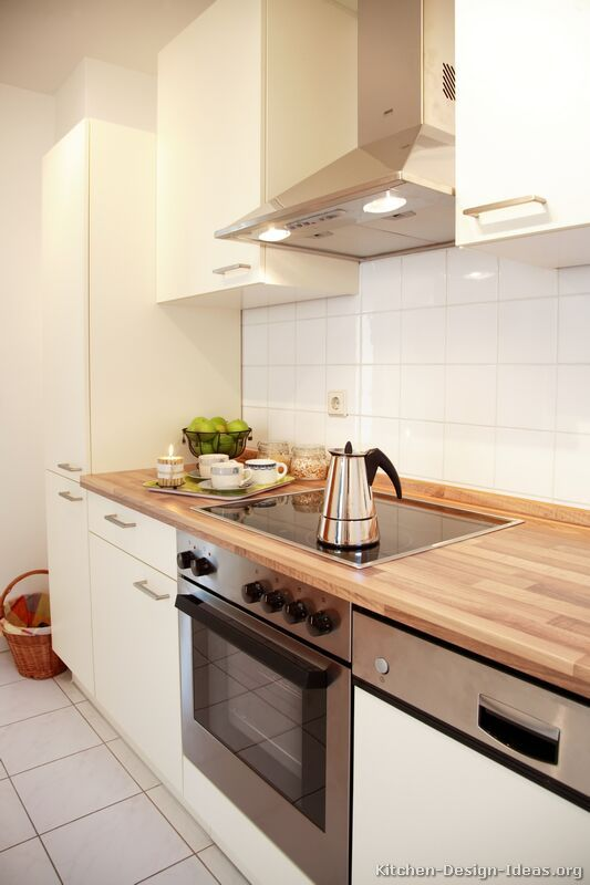 Pictures of Kitchens - Modern - White Kitchen Cabinets | White .