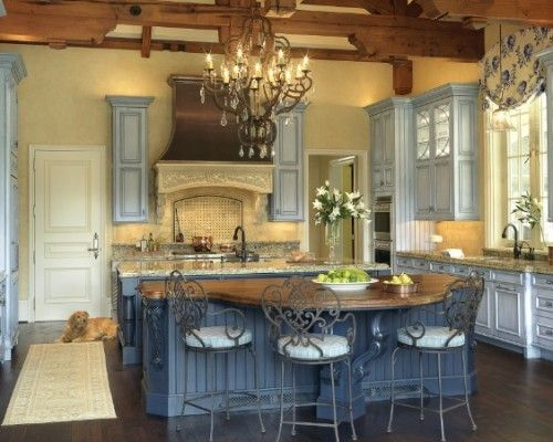French Country Kitchen Paint Colors | French-Country-Kitchen-Paint .
