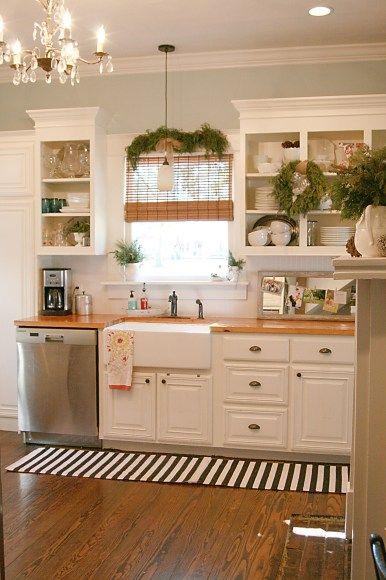 12+ Kitchen Paint Color Ideas | Ev için, Beyaz mutfak dolaplar